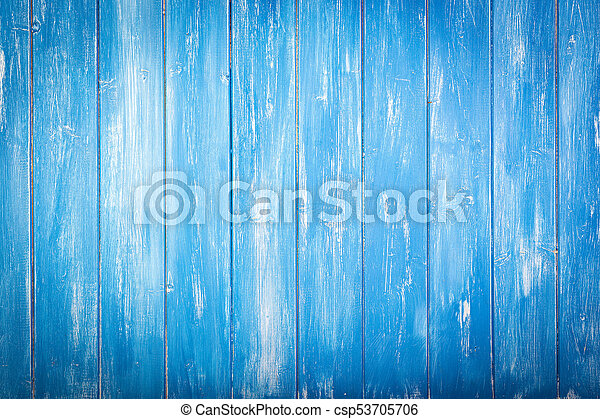 Blue Wooden Vintage Background Texture From An Old Table