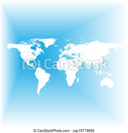 Blue world map vector blue world map light design vector blue world map vector gumiabroncs Image collections