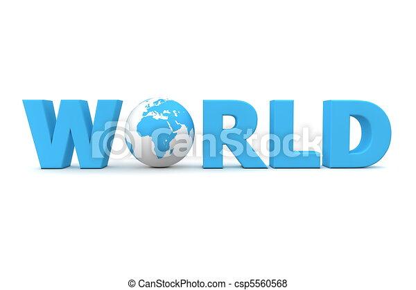Blue World - csp5560568