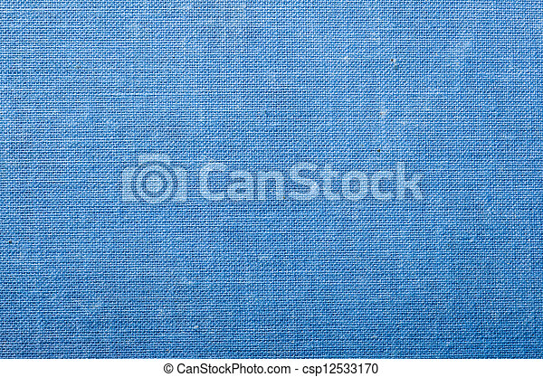 Blue woven cloth background - csp12533170