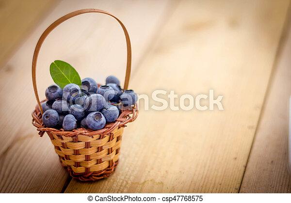 Blueberries - csp47768575