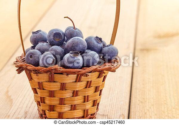Blueberries - csp45217460