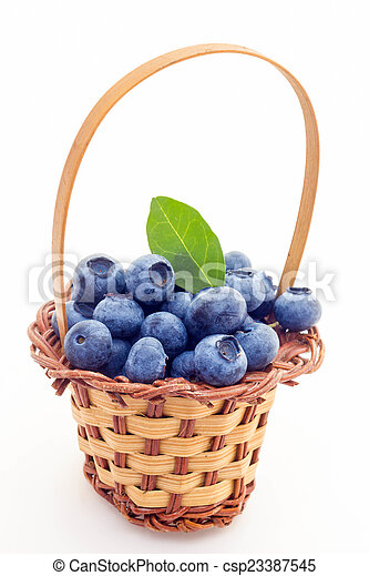 Blueberries - csp23387545