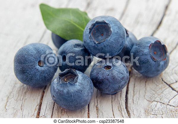 Blueberries - csp23387548