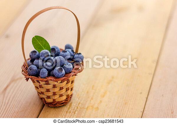 Blueberries - csp23681543