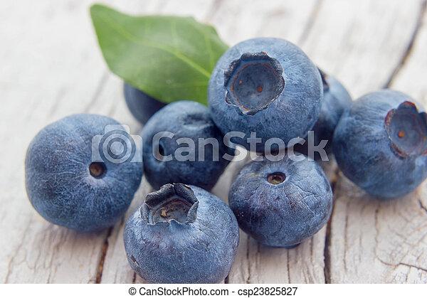 Blueberries - csp23825827