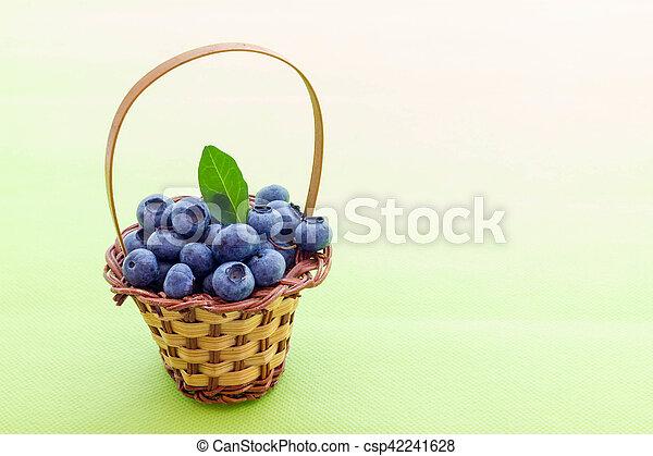 Blueberries - csp42241628
