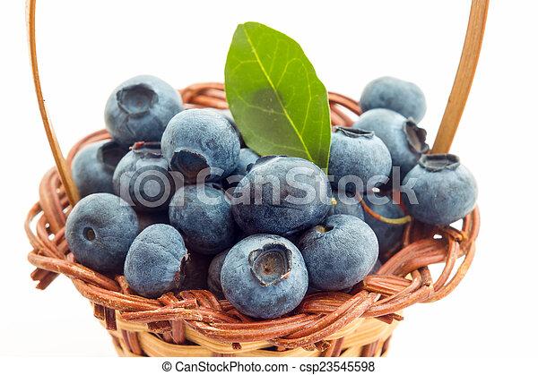 Blueberries - csp23545598