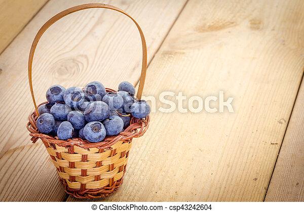 Blueberries - csp43242604