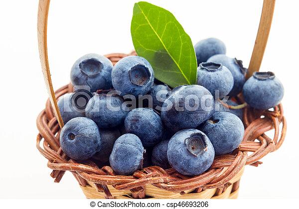 Blueberries - csp46693206