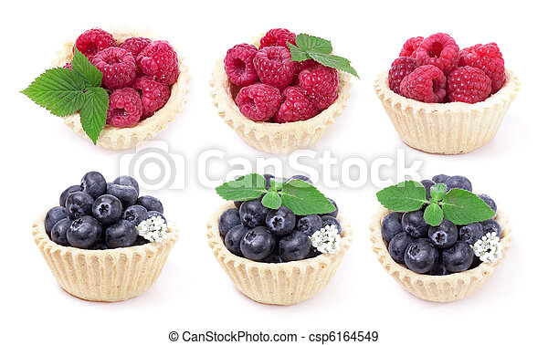 Blueberry and raspberry - csp6164549