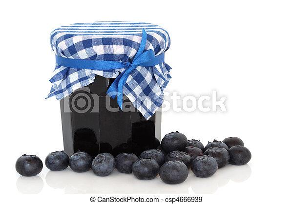 Blueberry Jam - csp4666939