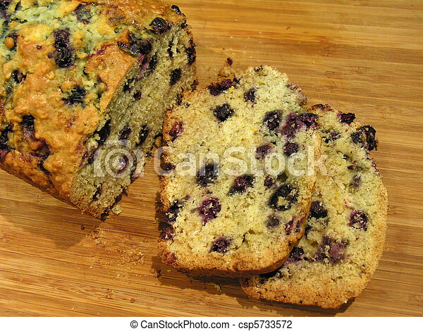 Blueberry Oatmeal Bread 1 - csp5733572