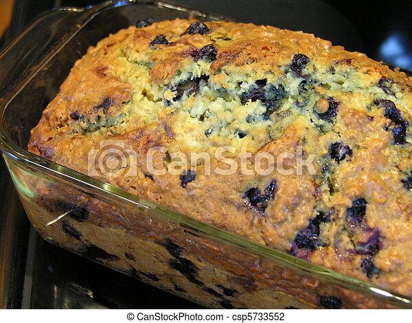 Blueberry Oatmeal Bread 10 - csp5733552