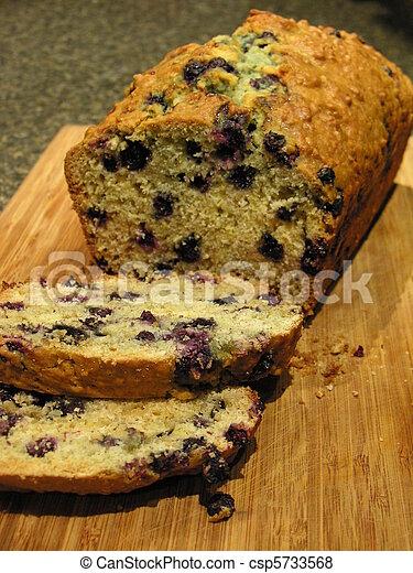 Blueberry Oatmeal Bread 2 - csp5733568