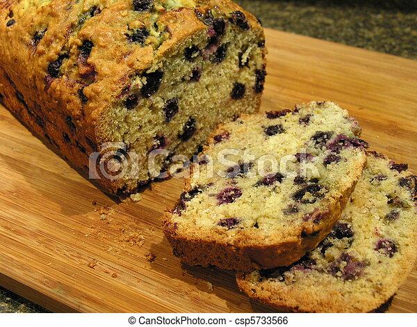 Blueberry Oatmeal Bread 3 - csp5733566