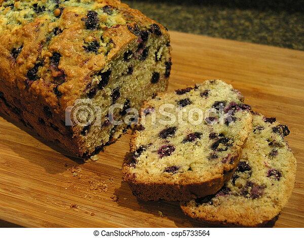 Blueberry Oatmeal Bread 4 - csp5733564
