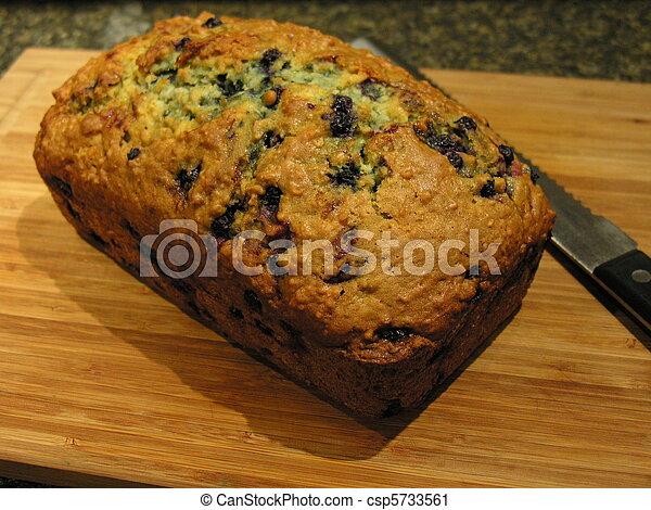 Blueberry Oatmeal Bread 5 - csp5733561