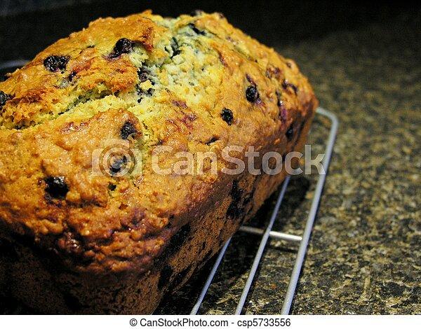 Blueberry Oatmeal Bread 7 - csp5733556