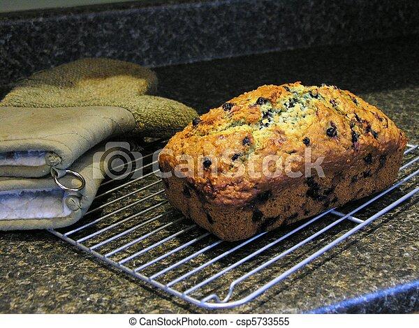 Blueberry Oatmeal Bread 8 - csp5733555