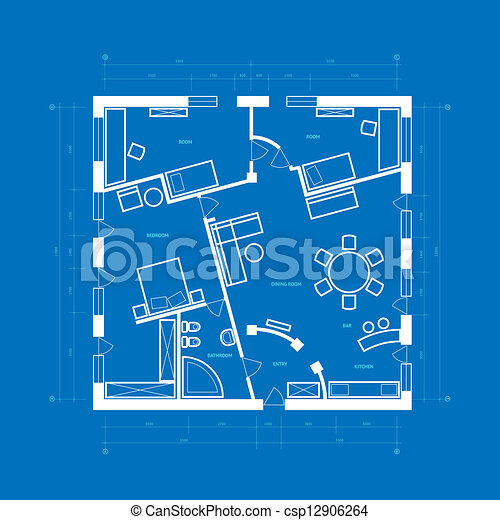 Blueprint abstract abstract blueprint background in blue clip blueprint abstract csp12906264 malvernweather Choice Image