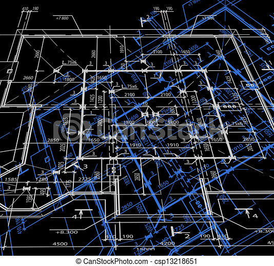 Blueprint abstract dark background vector blueprint of clipart blueprint abstract dark background vector malvernweather Choice Image