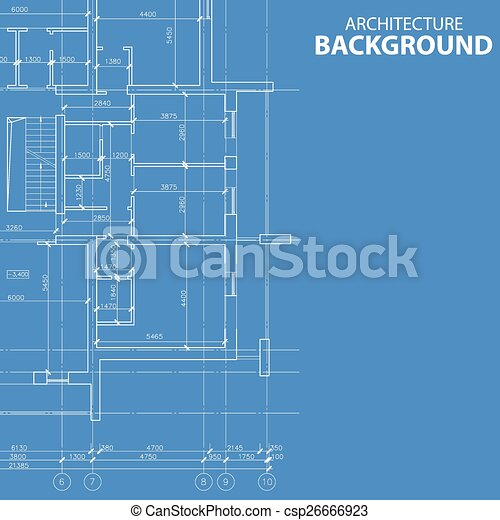Blueprint architecture model interesting blueprint vector blueprint architecture model csp26666923 malvernweather Image collections