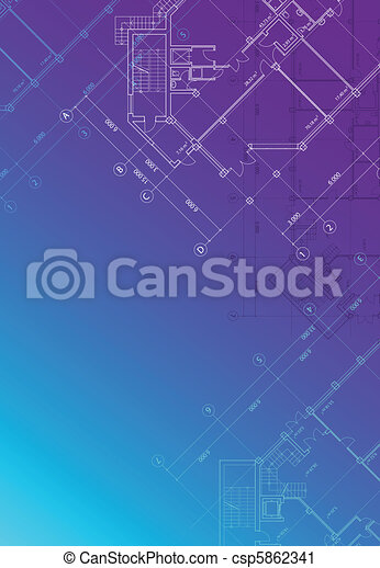 Blueprint background vertical - csp5862341