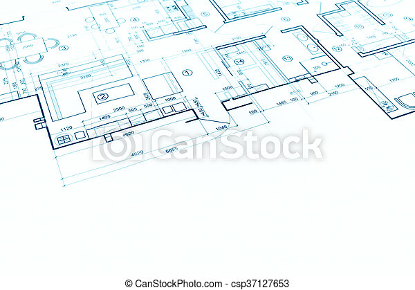 Blueprint floor plan technical drawing construction background blueprint floor plan technical drawing construction background csp37127653 malvernweather Images