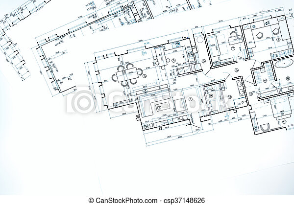 Blueprint floor plans technical drawing construction stock blueprint floor plans technical drawing construction background csp37148626 malvernweather Images
