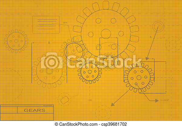 Colorful blueprint illustration stock illustration search clipart blueprint illustration malvernweather Choice Image