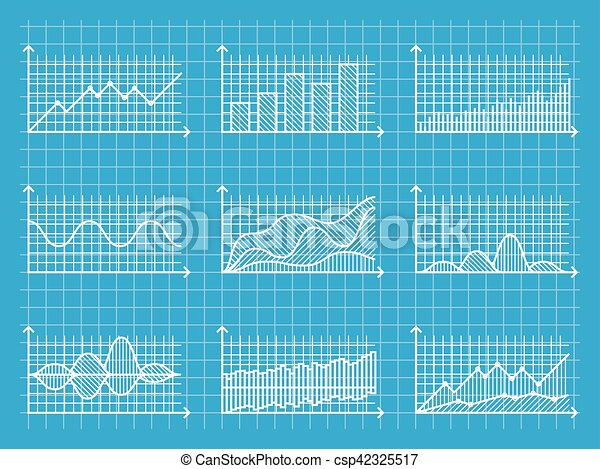 Blueprint infographic line graphs and charts template for blueprint infographic line graphs and charts template for presentation report business design vector malvernweather Images