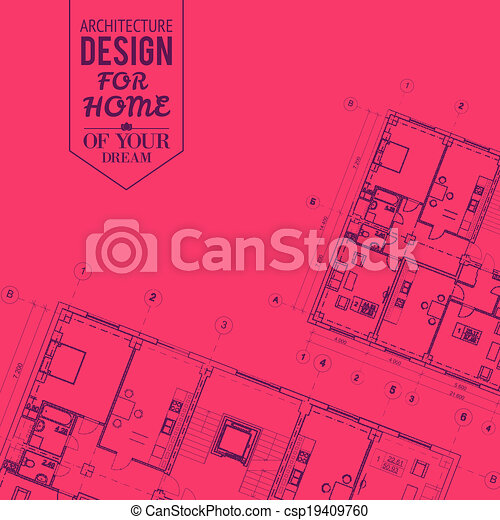 Blueprint of house project blueprint of house project on a clip blueprint of house project csp19409760 malvernweather Image collections