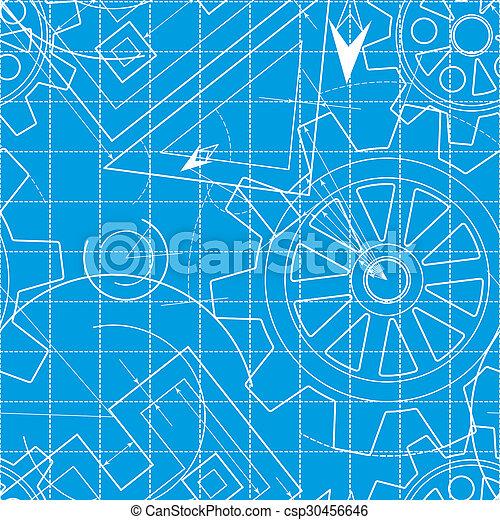 Blueprint pattern with gears stock photo search photographs and blueprint pattern with gears csp30456646 malvernweather Gallery
