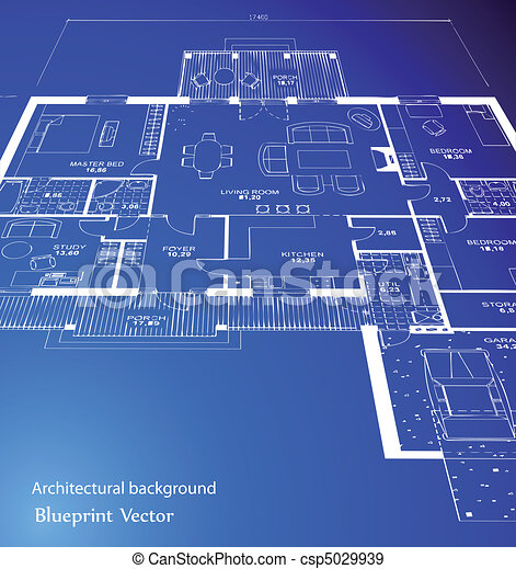 Blueprint vector vector of a blueprint plan illustration eps blueprint vector malvernweather Choice Image