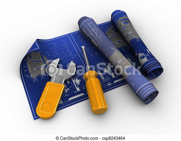 blueprints and tools - csp8243464