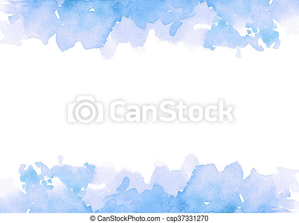 Antecedentes de pintura a color azul - csp37331270