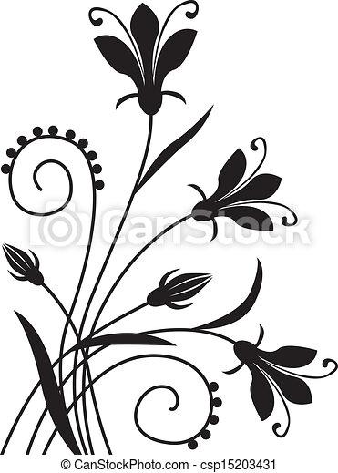 Blumenhintergrund - csp15203431