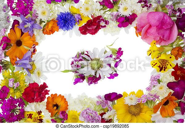 Blumen Bilderrahmen blumen bilderrahmen pfoto echte bild sommer rahmen