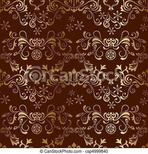 Leichtes, braunes Muster - csp4999840