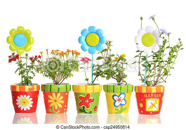Free Blumen Tpfe Bunte Hbsch Csp With Bunte Tpfe
