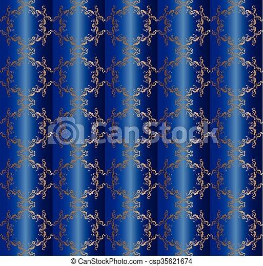 Blumen-, vorhang, seide, muster. Dekorativ, dekorativ, mode, theater ...