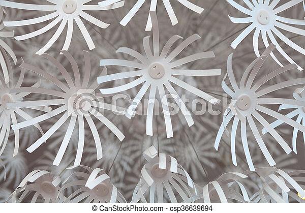 Kronleuchter Mit Blumen ~ Blumen weißes kronleuchter detail plastik