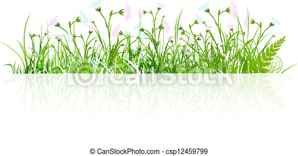blumen wiese sommer gras wiese fruehjahr aus gr ner eps vektoren suche clipart. Black Bedroom Furniture Sets. Home Design Ideas