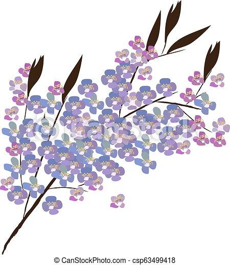 Floral Ast - csp63499418