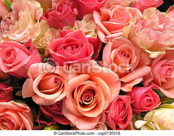 blumengebinde, wedding - csp0130316