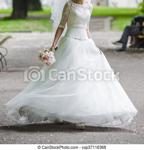 blumengebinde, wedding - csp37116368
