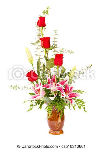 Blumenarrangement - csp10310681