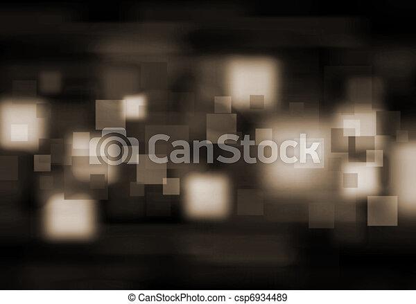 blur lights , defocused background - csp6934489