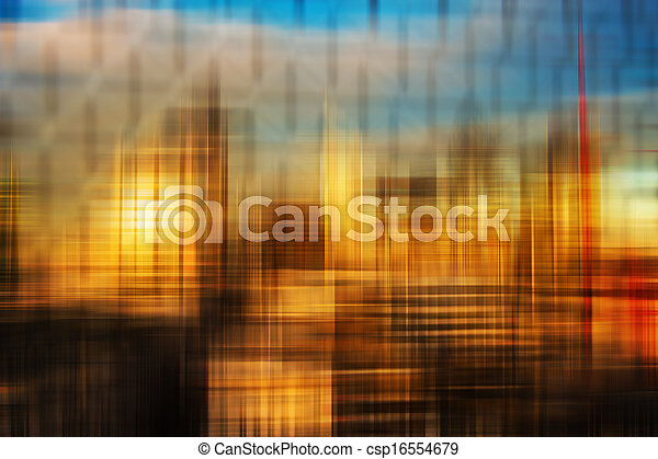 Blurred abstract colorful background - csp16554679
